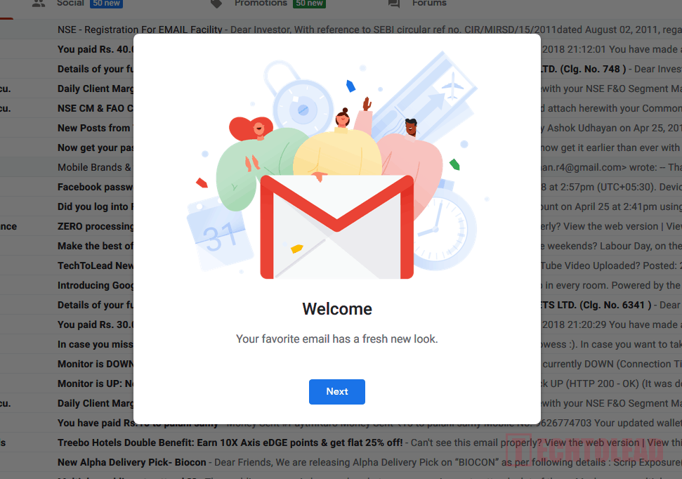 How To Get New Gmail Interface Right Now (3)
