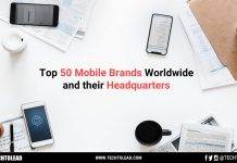 Top 50 Mobile Brands Worldwide And Their Headquarters