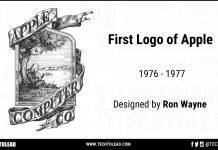 First Logo Of Apple Inc