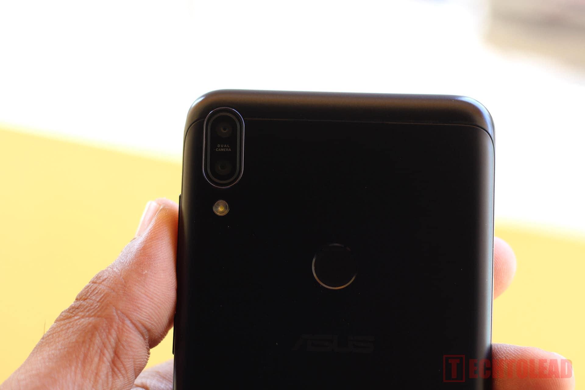 Asus Zenfone Max Pro M1 BackSide