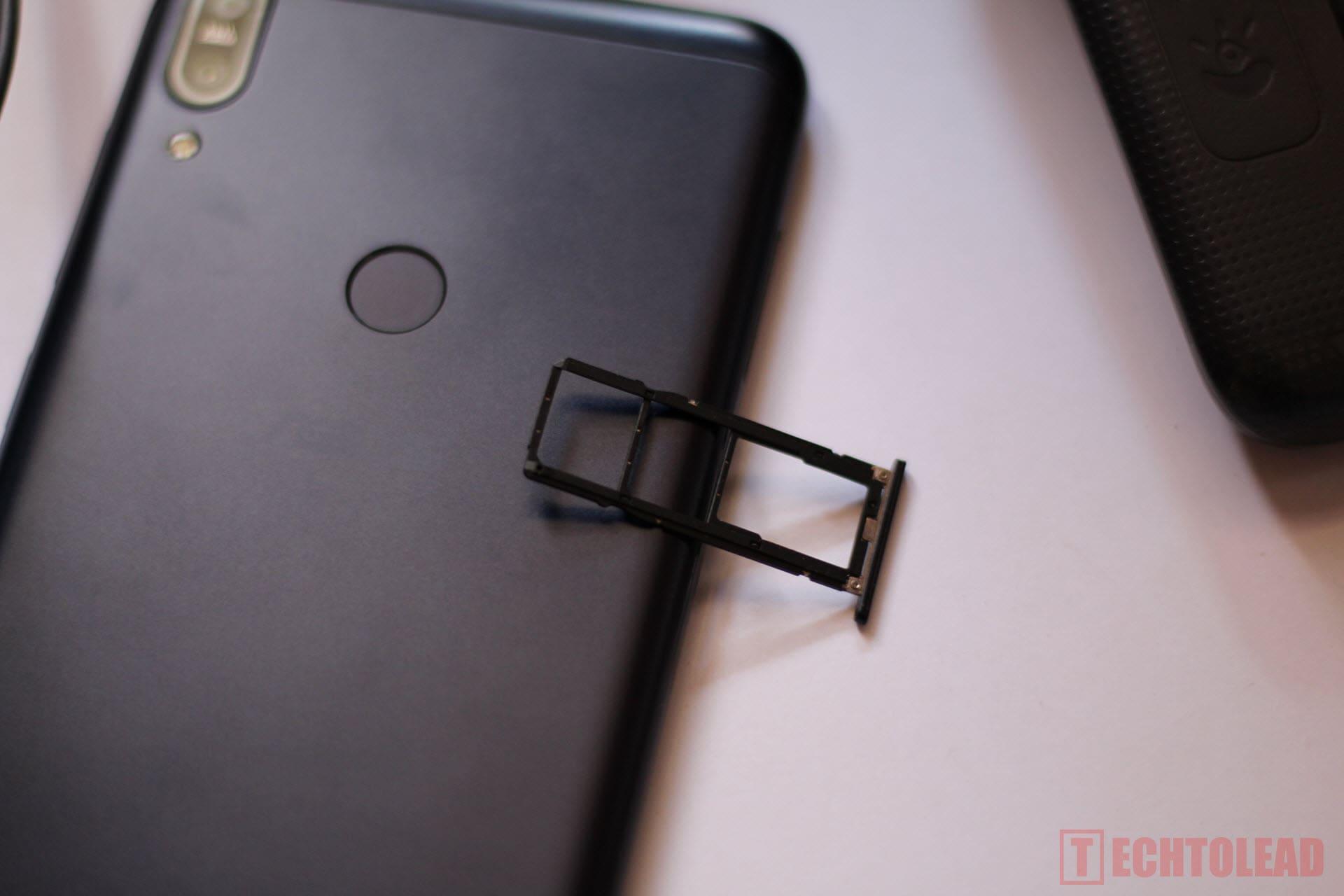 Asus Zenfone Max Pro M1 Left SIM SLOT