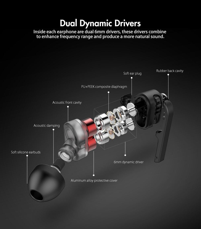 BlitzWolf BW ES2 Dual Dynamic Drivers