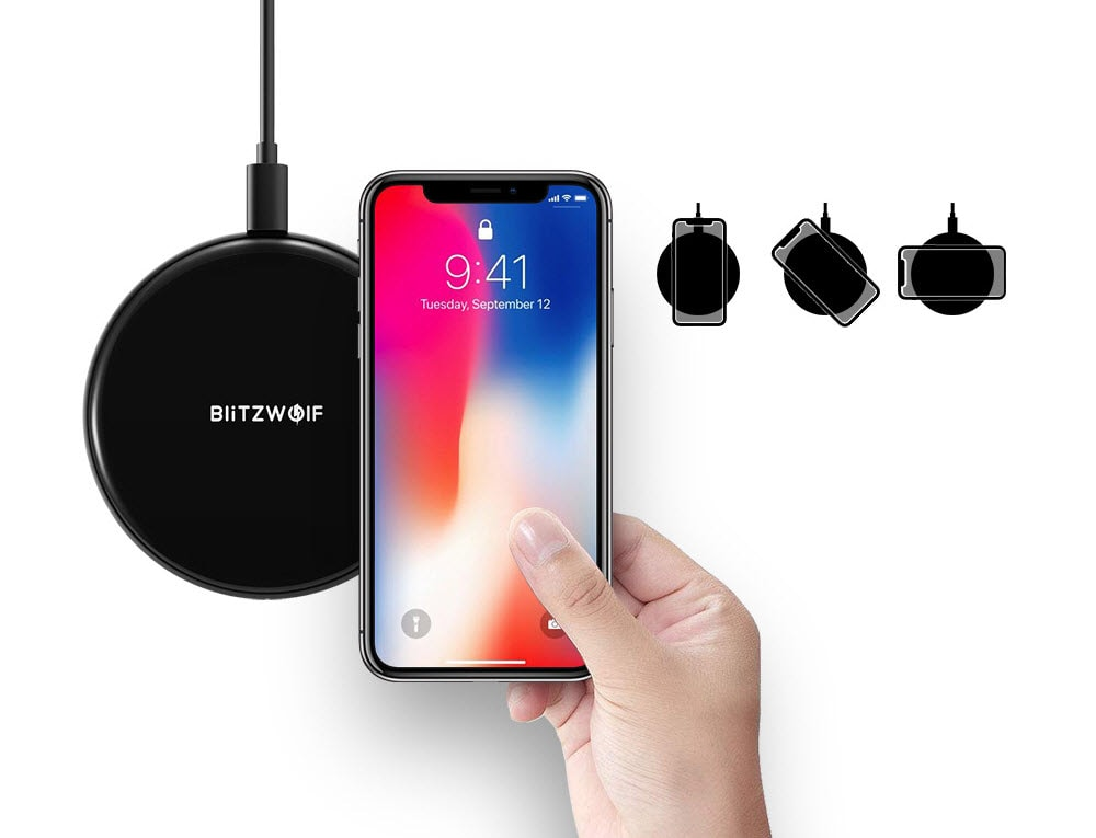 Blitzwolf BW FWC3 5W Wireless Charger (1)