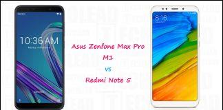 Asus Zenfone Max Pro M1 Vs Redmi Note 5