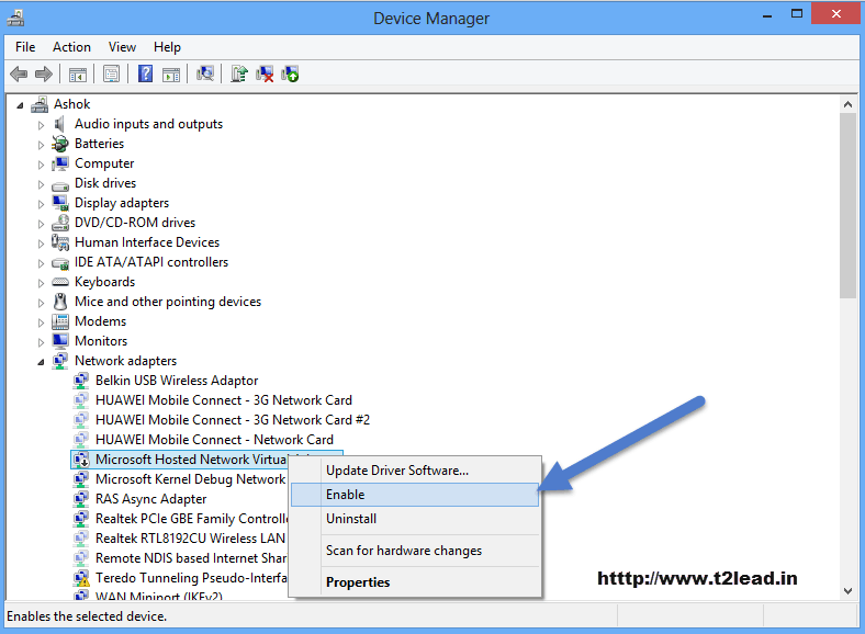 How To Fix The Hosted Network Couldn\u0027t Be Started in Windows